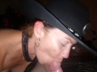 Cock suckin cowgirl