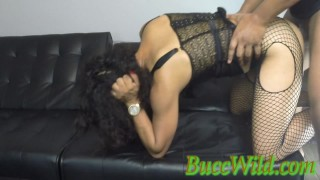 Ghetto Girl ANAL Tap Out