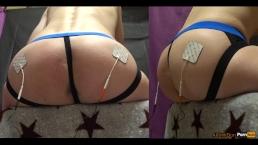 Mystim и 2 электрода на моей заднице, 7 режимов