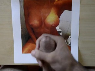 Thick cum tribute for TributeGyrl