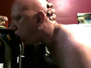piggy blowjob deepthroat practice 9/6/18