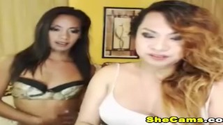 Shemale couple into live hot and playfull hot sexcapade venture trap tranny