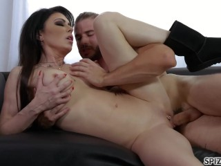 Spizoo - Jessica Jaymes is punished by a huge cock, big boobs & big booty
