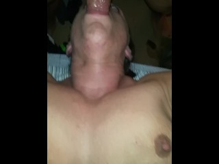 Momma getting fucked in the mouth
