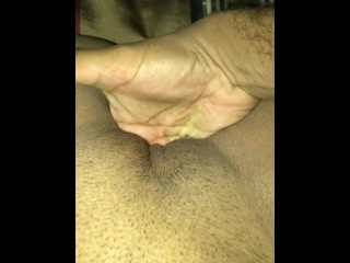 Knuckles deep in my pussy