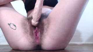 Cum Compilation! 4 Hairy Pussy Orgasms