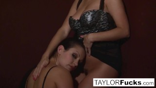Bed in aria and taylor brunette nude