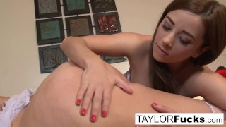 Taylor bed aria and in fucking tits