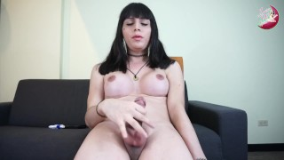 Luna shemale slut challenges you to an edging challenge #1