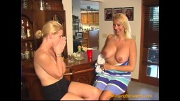 Milf meets her HOT MAID