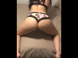 Twerking for daddy - Snapchat (Everylastdrop69)