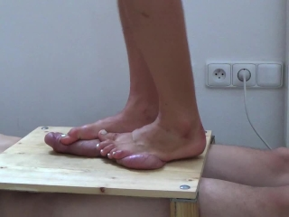 Ball And Cock Trample 2 - CBT Trampling