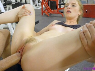 Aria alexeder footjob video cute nympho begs for cock at the gym! Gym selfie s16:e10, young amateur petite small frame natural