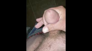 Limp Dick Orgasm follewed by amazing pee piss