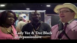 DV Passion Love with Jiggy Jaguar Exxxotica Expo 2018 Denver Co