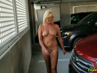 Stripping Full Nude in Public #1 with Ms Paris Rose