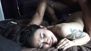 Non Stop Multiple Orgasms on the First Time BBC Mother old