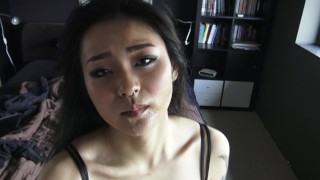First time on the multiple orgasms bbc non stop asian blowjob