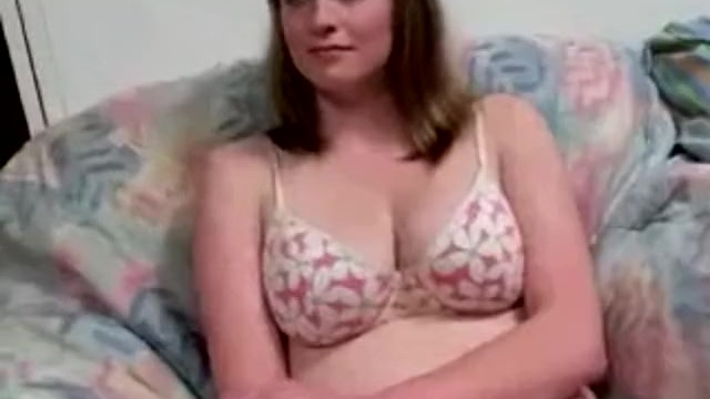 Chubby Blonde Teen Blowjob
