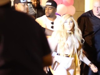 DID LIL KIM GETS CURSED OUT by BOBBY LITES LEAVING THE CLUB CLIMAXXX MIAMI