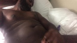 Tall Curved BBC stroke in hotel room