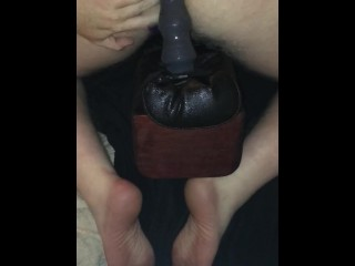Massive Dildo Buttplug Fucking, Asshole Annihilator