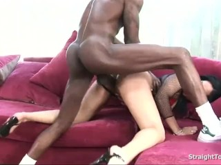 Jazmine Cashmere Stuffing Her Ass With BBC