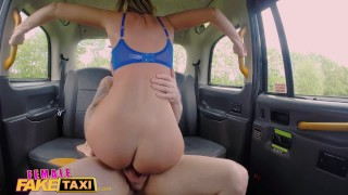 Female Fake Taxi Sex addicts skip therapy for sex Italian big