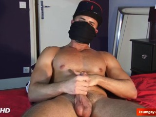 My straight neighbour (next door guy) serviced in a porn