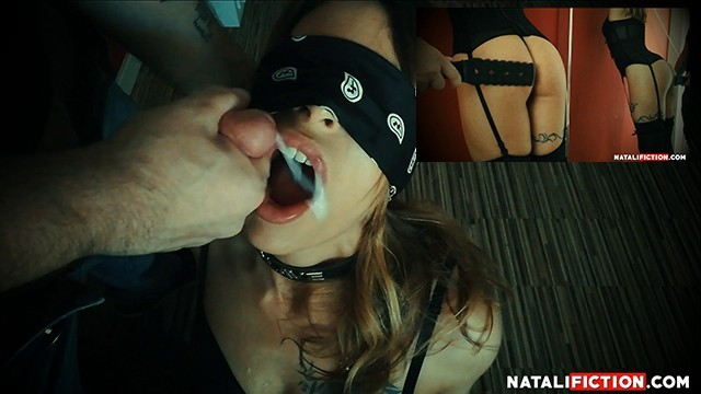 Cum swallowing fiction Cum in mouth, mouthfuck deepthroat after spanking my ass - natali fiction