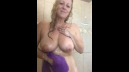 Wife and Her Shower Time, showing off for you!