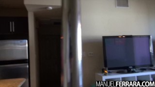 Manuel Ferrara - Bonnie Rotten Dances On Pole Then Sits On One