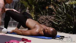 Crazy Over Timmarie Baker's Yoga Classes & His Black Dick Too