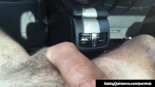 Milf in sperm mexi cock car blows quinteros gabby hungry face live