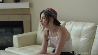 ProducersFun - Gorgeous Alex Blake vapes while being fucked by Mr. Producer Latina ass