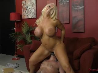 Bathroom sex tube mylf - busty milf gets titty fucked by young stud mylf big boobs big