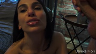 She start teasing you until you let her swallow your cum! porno