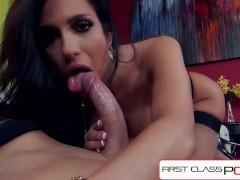 FirstClassPOV - Jaclyn Taylor sucking a monster cock, big boobs & big booty