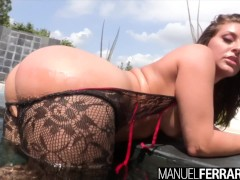 Manuel Ferrara - Gracie Glam's Huge Ass Rumbles