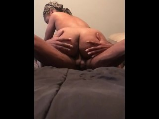 Ebony Amateur Couple Fucking Part 1