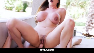 MYLF - Smoking Hot Mature Brunette Filled Up By Pool Boy  ariella ferrera colombian melons boobs hairy creampie wife mom busty milf bigtits mature cougar mother horny housewife big boobs mylf huge tits