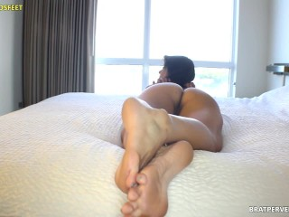 Bare Soles, Ass and Pussy