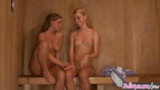 The rogers jessie love in xoxo twistys melissa n sauna blonde fingering
