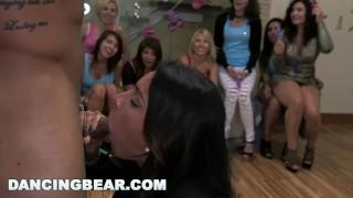 dancing bear - sean lawless gets the best blowjob of his life