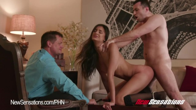 Hotwife Eliza Ibarra Watched By Her Husband Fuck Another -8287