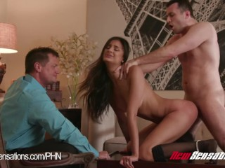 Hotwife Eliza Ibarra Watched By Her Husband Fuck Another Guy