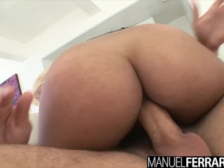 Clitoris xxx spizoo - jackie woods selena santana fucking a huge cock, big booty