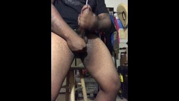 Big Head Thick Cock Soft To Hard Oiled Up Cumshot
