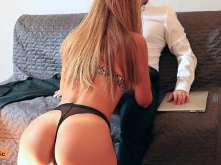Blonde Secretary Gets Fucked by her Boss till Orgasm