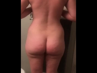 InnocentHouseWife Strips after workout